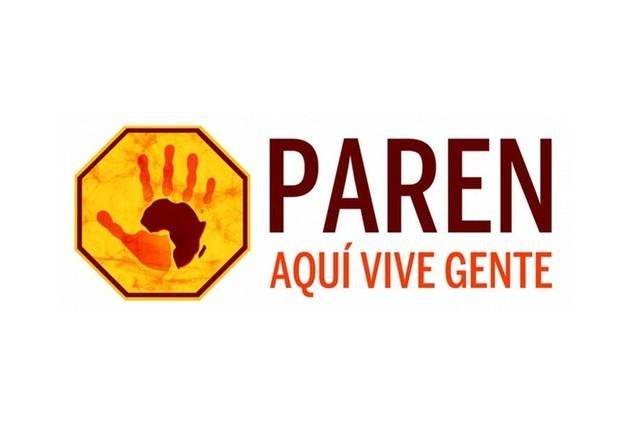 """Logo Campaña """"Paren. Aquí vive gente"""""""