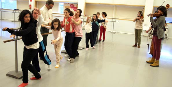 Taller de Danza para niños con paralisis cerebral