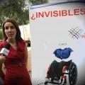 Acto de calle Dia de los Invisibles