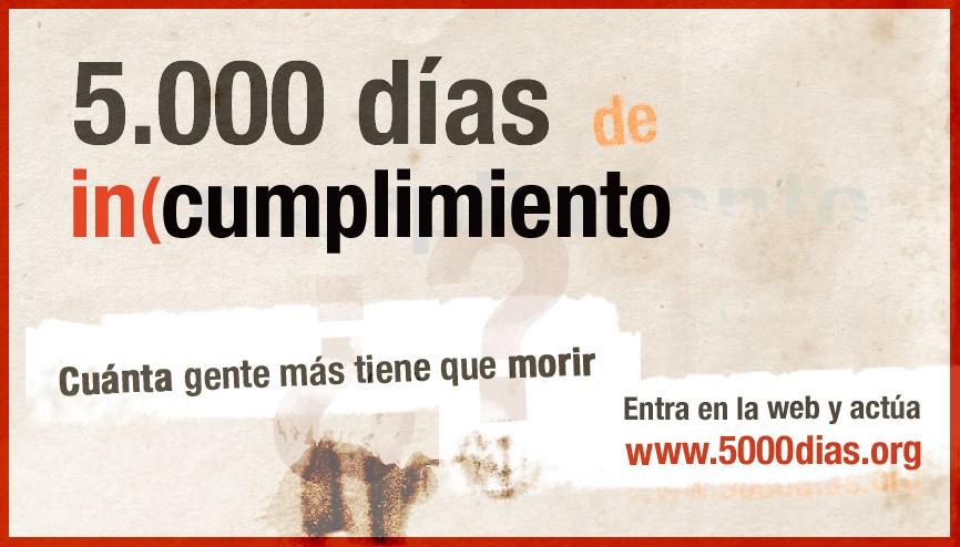 5.000 días de incumplimiento