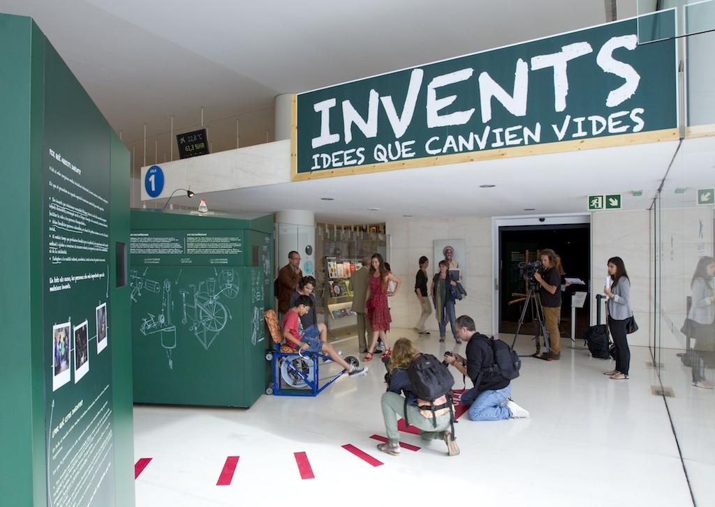 """Se inaugura en el CaixaForum de Barcelona la exposición """"Inventos. Ideas que cambian vidas"""""""