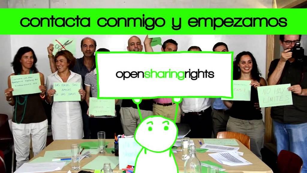 Ya puedes ver nuestro último vídeo de animación para SharingRights.com
