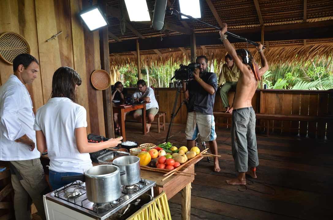 Rodajes en Amazonia. CIPO Company