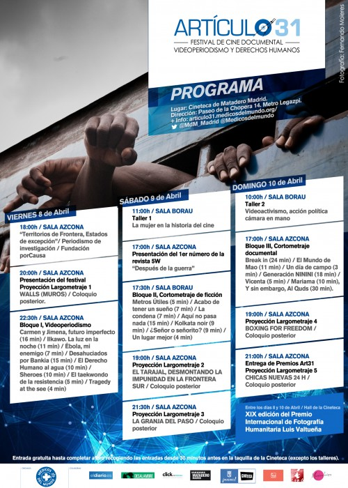 Progama_Articulo31FilmFest