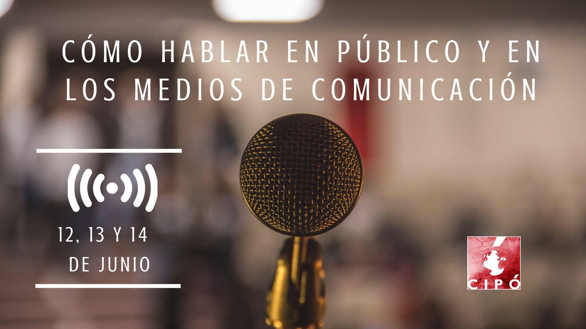 Curso Cómo hablar en Público